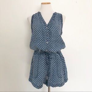 Anthropologie Hei Hei Polka Dot Romper